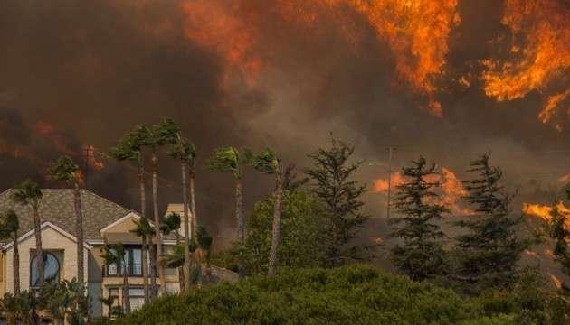 Пожары в Калифорнии и России. Не надо путать! Это совсем другое дело!