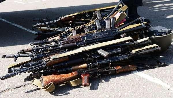 Минобороны Украины разворовывает стрелковое оружие железнодорожными составами