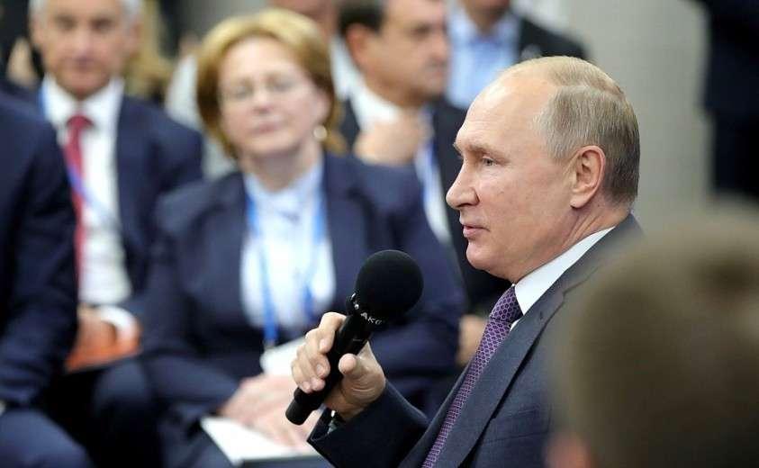 Владимир Путин в Калининградской области провёл встречу с представителями общественности
