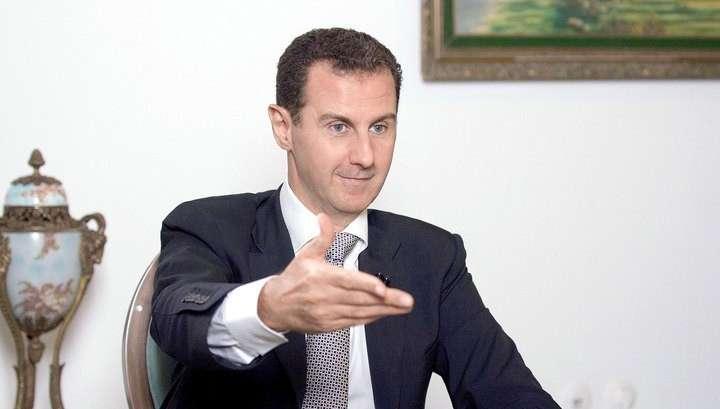 Башар Асад назвал Дональда Трампа лучшим президентом в истории США