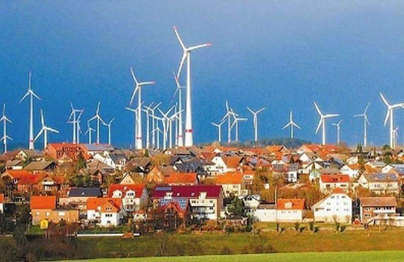 Германию уже тошнит от «зелёной» ветроэнергетики