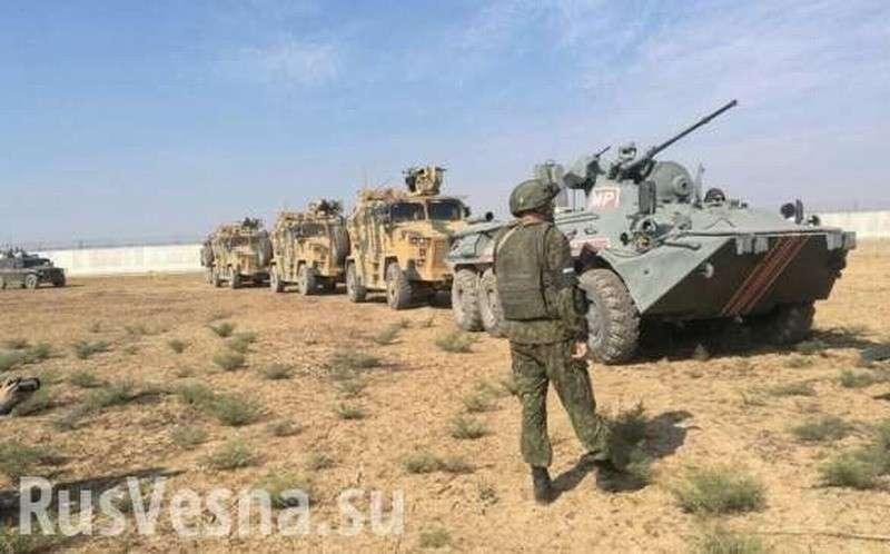 «Тигры», «Тайфуны» и Kirpi: Россия и Турция начали совместные операции в Сирии (+ВИДЕО, ФОТО)