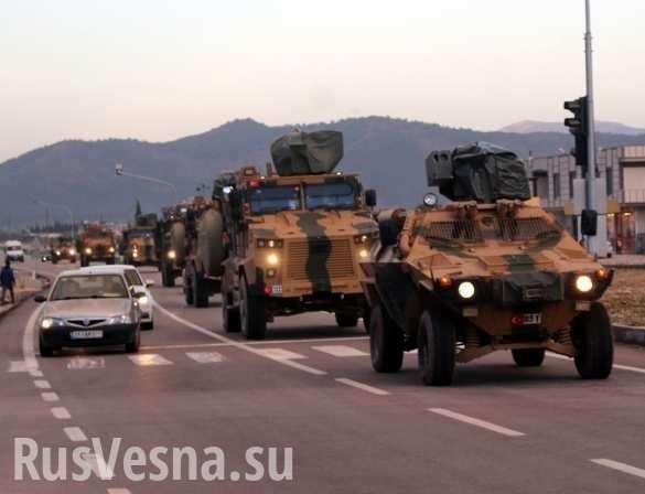 Сирия: турецких военных закидали камнями, а русских нет | Русская весна