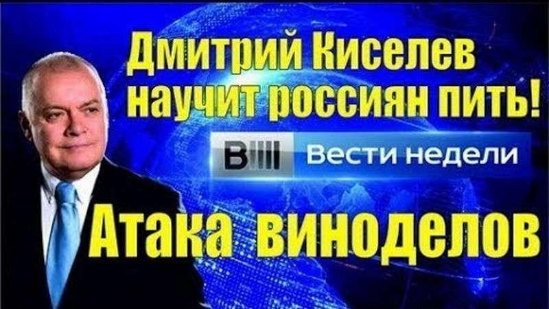 «Кино про вино». Журналист-виноторговец Дмитрий Киселев научит россиян пить!