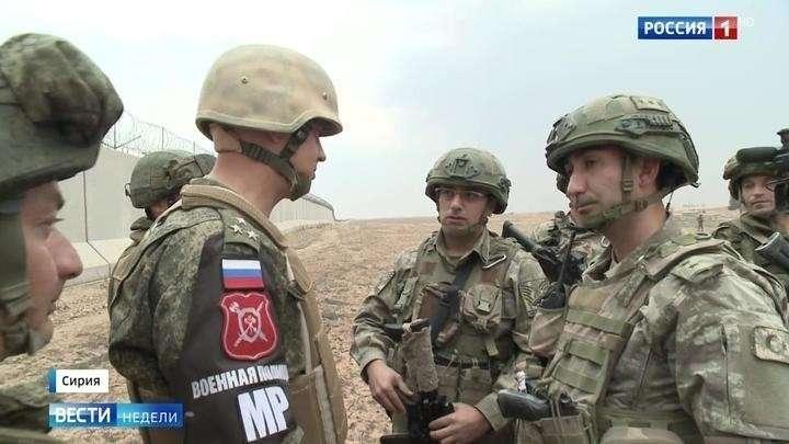 Сирия: русские и турки изгнали американцев и патрулируют границу