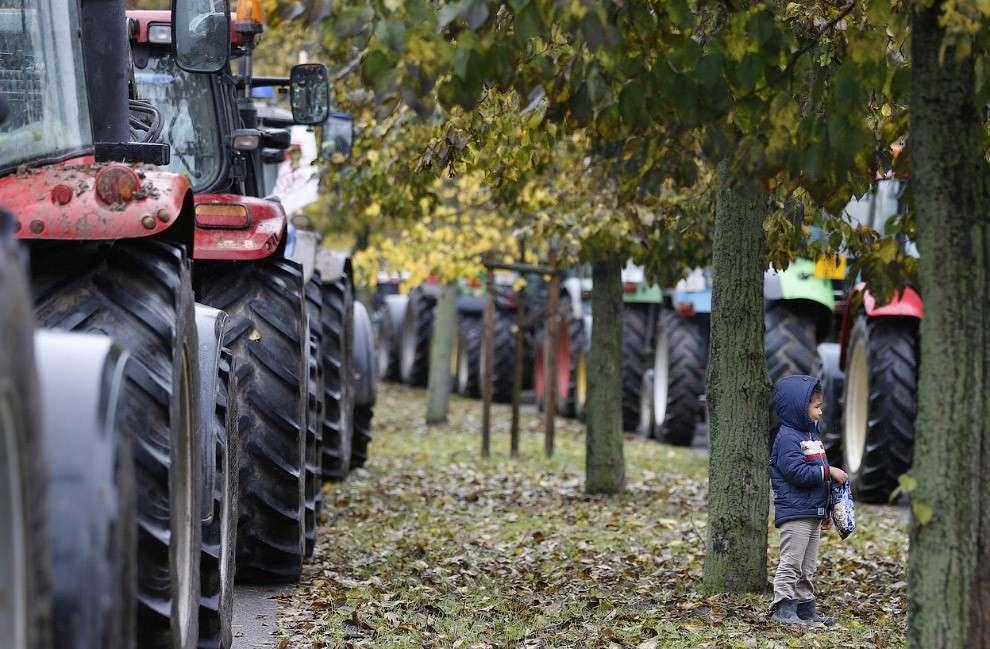 Фермерские тракторы, Страсбург, Франция