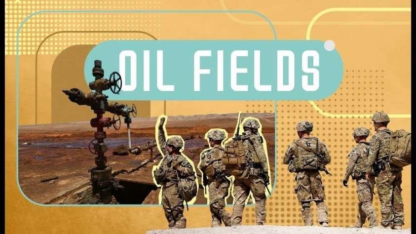 Сирия. Пиндосов выкинули с севера страны но отдавать нефть Дейр-эз-Зора они отказываются