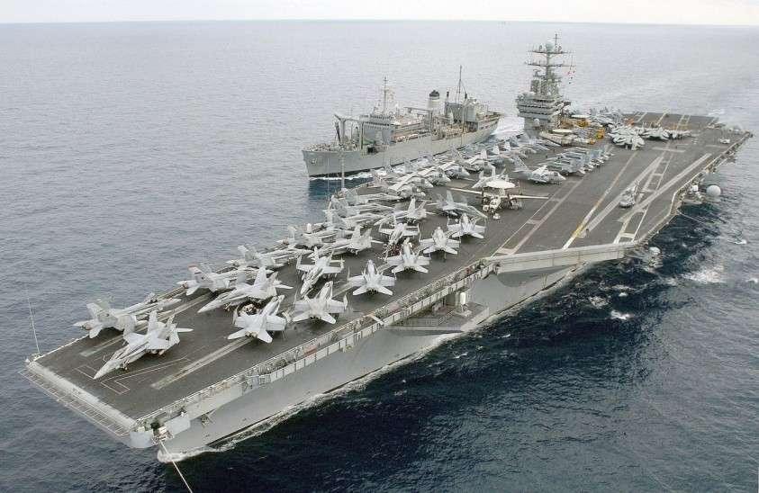 6 авианосцев США стоят в доке, и ни один из них не готов к бою. Военные США рассержены