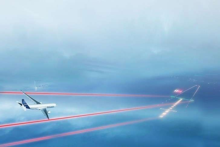 Лазерная система посадки самолетов от компании Швабе