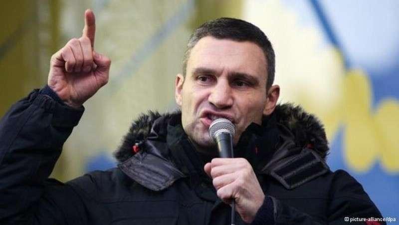 Против «символа киевского евромайдана» – Кличка возбудили дело о госизмене и хищении