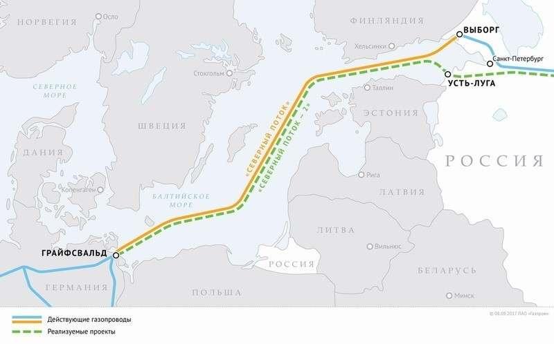 Германия нашла способ обойти ограничения директивы ЕС наложенные на газопровод «Северный поток–2»