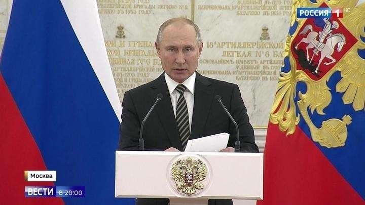 Владимир Путин поставил задачи высшему офицерскому корпусу: новейшее лазерное и гиперзвуковое оружие
