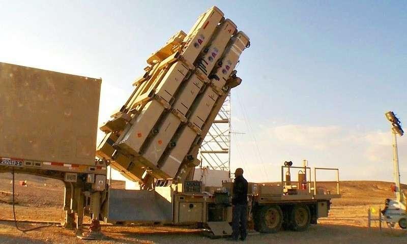 Россия захватила в Сирии в неповрежденном виде секретную израильскую ракету ПРО