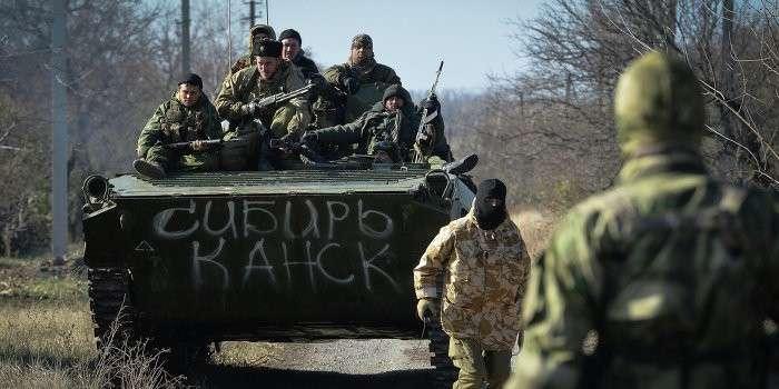 Под Донецком идут ожесточённые бои