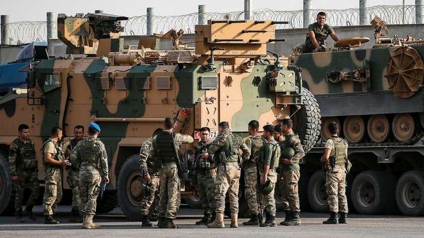 Турция начала крупную военную операцию против курдов на севере Ирака