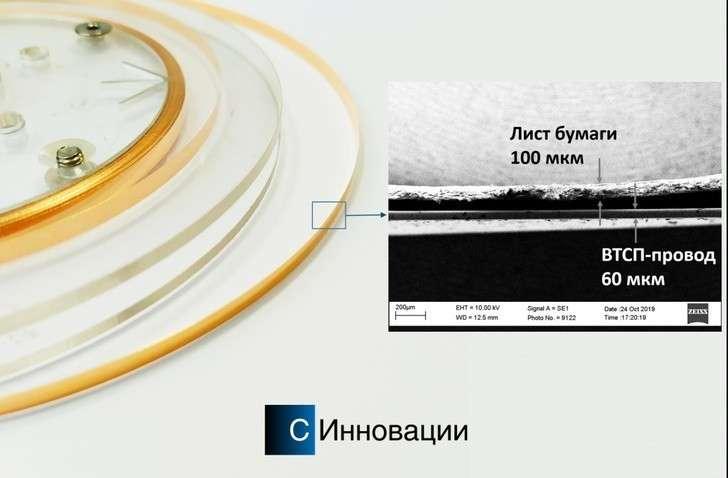 Рекордный сверхпроводниковый провод запущен в серийное производство