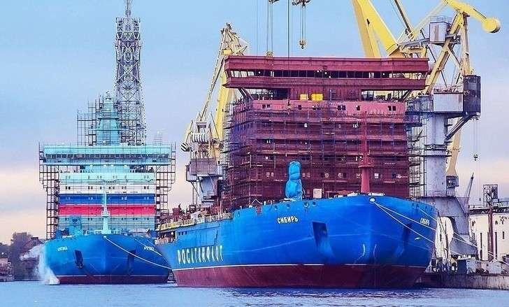 На атомном ледоколе «Сибирь» начались швартовные испытания
