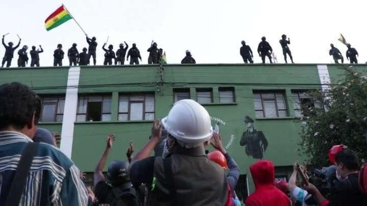 Президент Боливии Эво Моралес заявил о попытке переворота