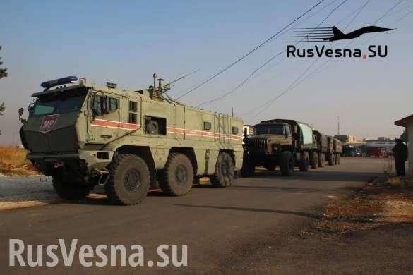 Русские «Тайфуны» в заповеднике гоблинов: Идлиб радостно встречает армию России