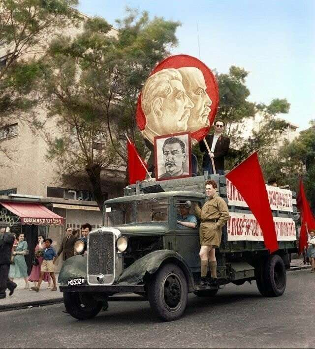 Как товарищ Сталин помогал Израилю и как тот отплатил ему