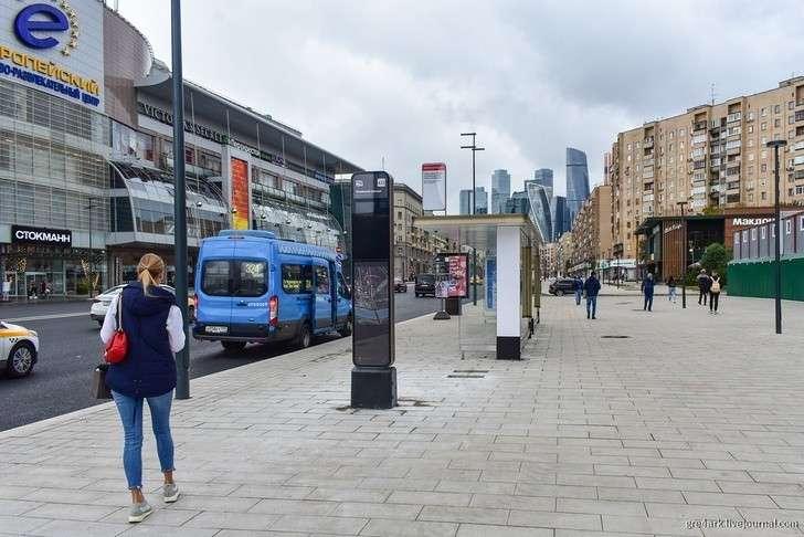 Москва. Новая площадь Киевского вокзала отремонтирована