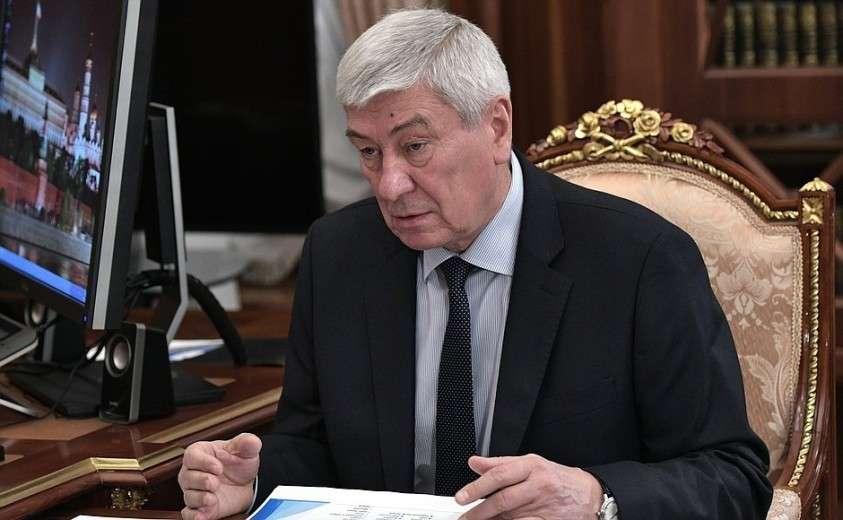 Директор Федеральной службы по финансовому мониторингу Юрий Чиханчин.