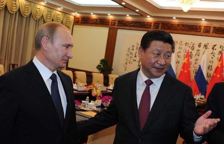 Лидеры России и Китая заявили о поддержке избранной линии сотрудничества двух стран