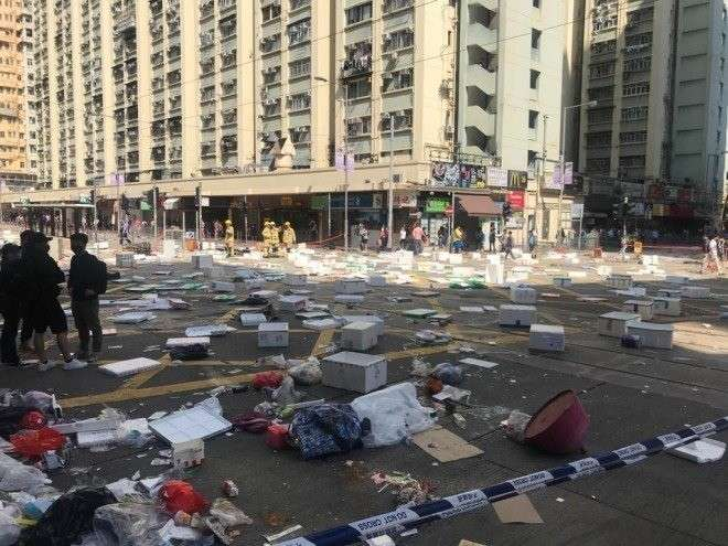 Протесты в Гонконге перешли в фазу