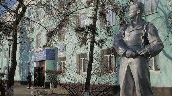 Здание Амурского колледжа строительства и жилищно-коммунального хозяйства в Благовещенске, где произошла стрельба