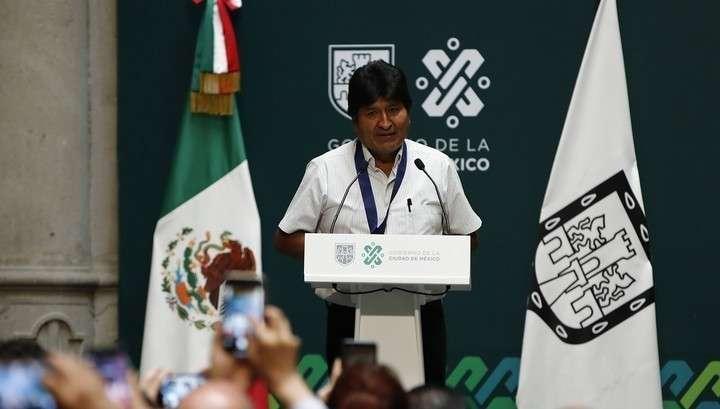 Моралес готовит возвращение в Боливию и призывает прекратить насилие