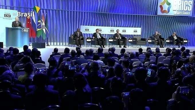 Выступление на церемонии закрытия Делового форума БРИКС