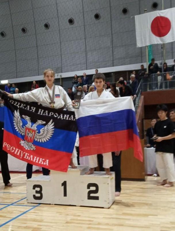 Сборная ДНР по каратэ завоевала 13 медалей на девятом Кубке мира по каратэ KWF в Японии
