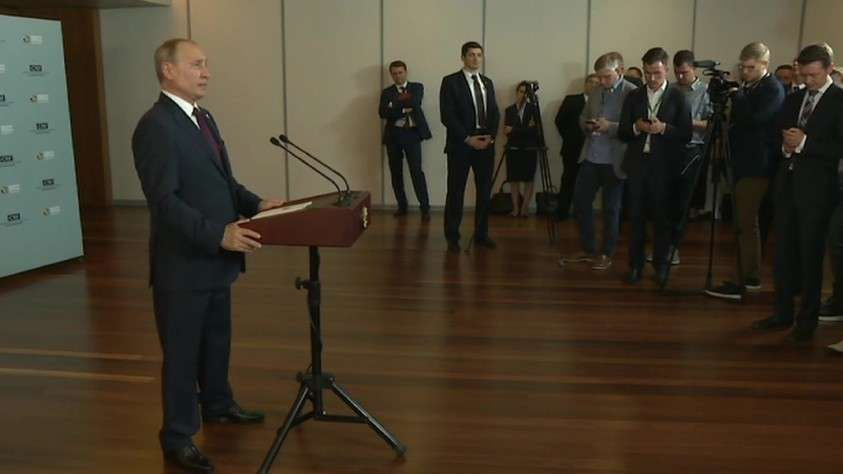 Владимир Путин заявил о риске прекращения транзита российского газа через Украину