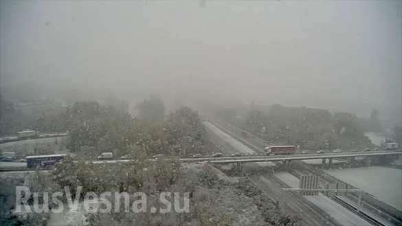 Во Франции снежный апокалипсис: 200 000 домов без света и первая смерть | Русская весна