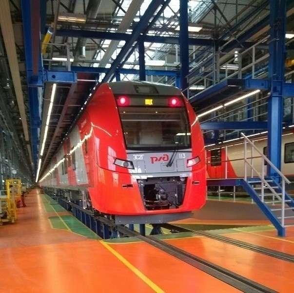 «Уральские локомотивы» оборудовали все «Ласточки» на МЦК системами автоведения