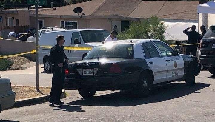 Стрельба в Сан-Диего: пять человек убиты, среди них – три ребенка