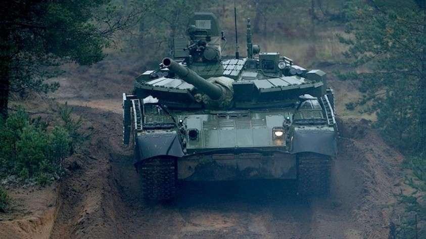 Модернизированные танки Т-80 теперь могут топить флот противника