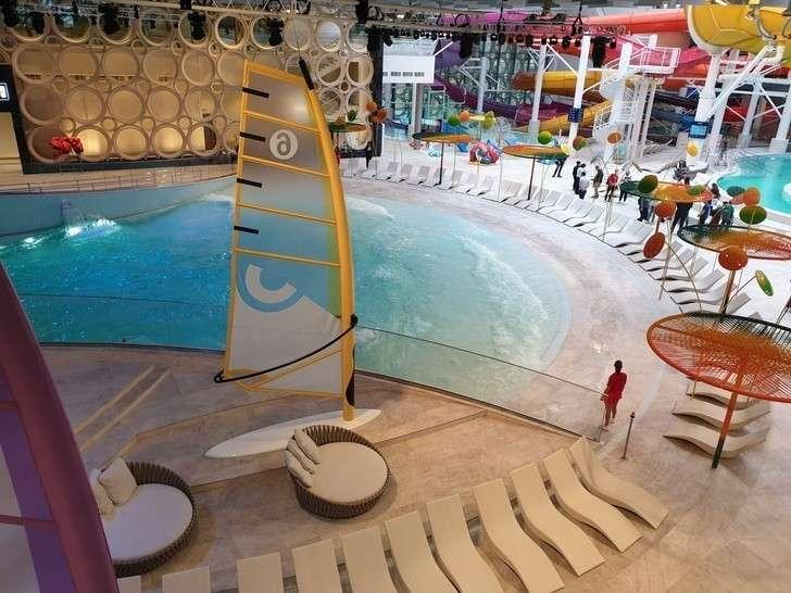 Дворец водных видов спорта в «Лужниках» принял первых посетителей после масштабной реконструкции