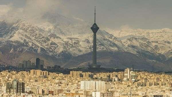 Панорама Тегерана, Иран