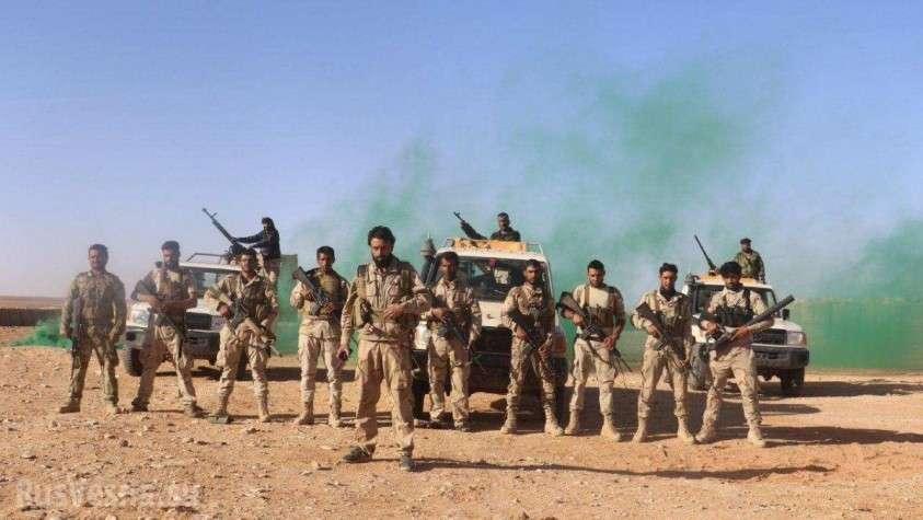 Бардак у базы США в Сирии: Армия России против демократического Пентагона
