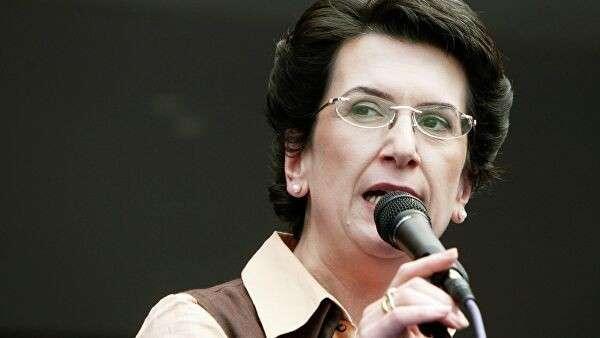 Одна из лидеров оппозиционного Народного собрания Грузии Нино Бурджанадзе