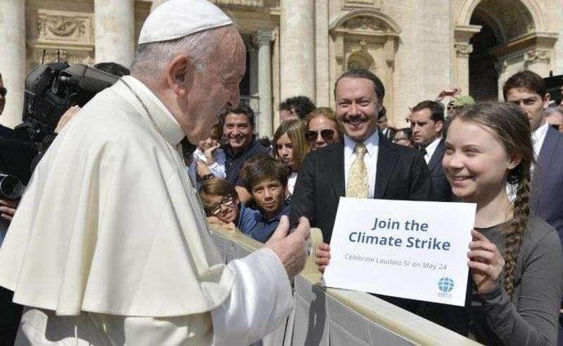 Римский Папа впадает в детство? Новая заповедь: «Не отрицай изменение климата раб божий!»