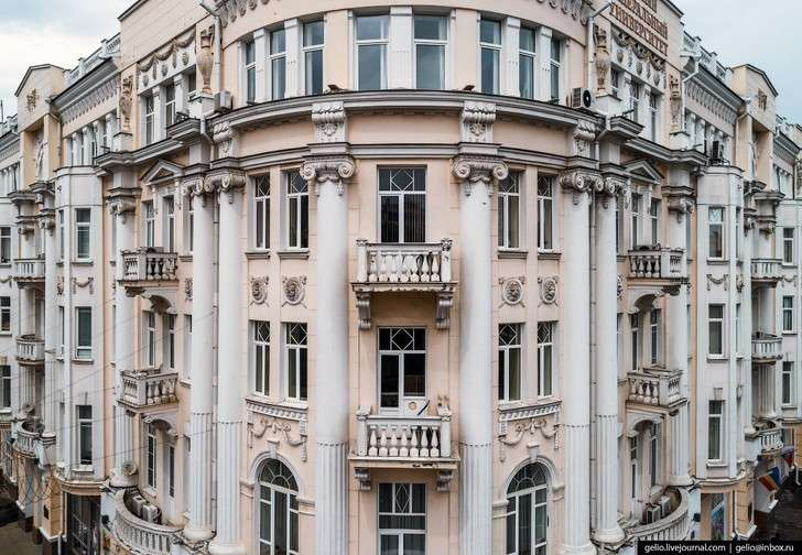 Ростов-на-Дону – южная столица России с высоты