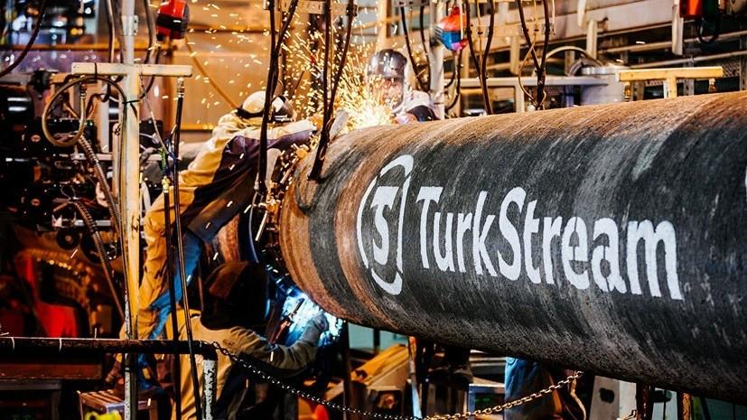 «Газпром» заявил, что обе нитки газопровода «Турецкий поток» заполнили газом