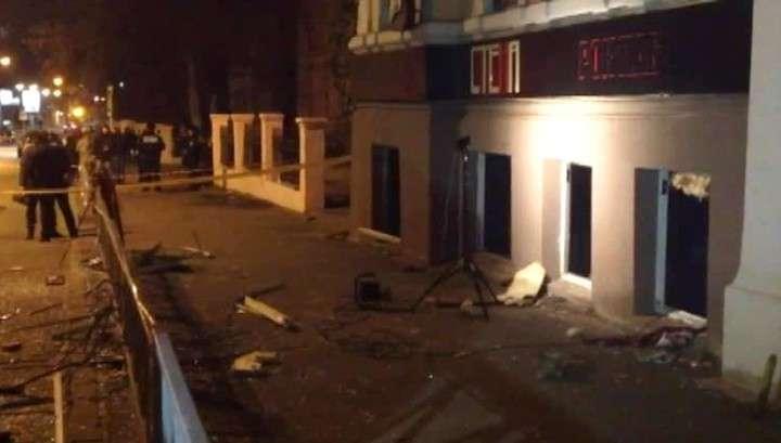 Взрыв в харьковском клубе: число пострадавших достигло 11 бандеровцев