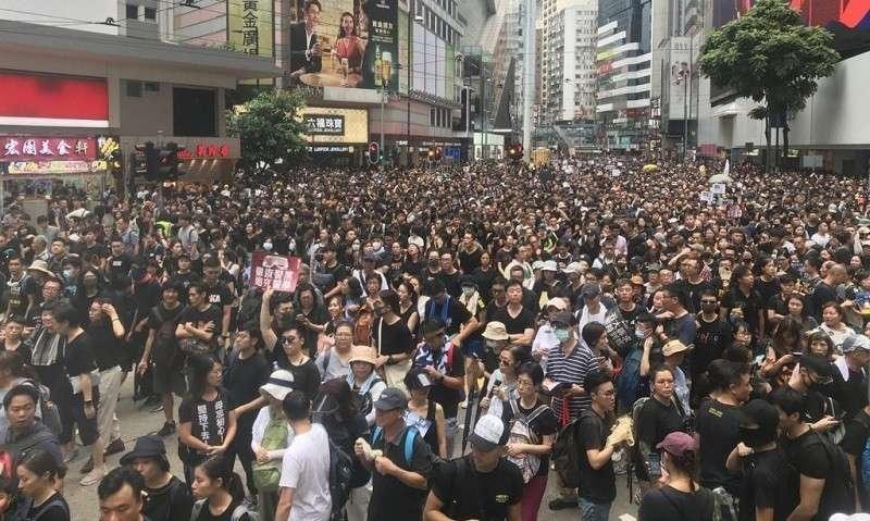 Сенат США поддержал проект о защите прав человека в Гонконге