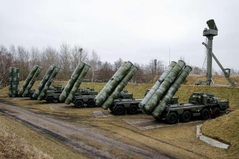 Российский комплекс С-400 рвёт ВВС США как Тузик рекламный фантик
