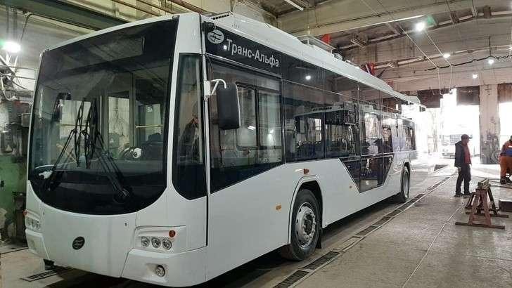 «Крымтроллейбус» начал получать новые троллейбусы марки «Транс – Электро» с автономным ходом