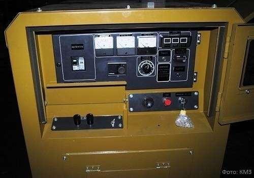 КМЗ запустил в серийное производство мобильные дизель-генераторные установки