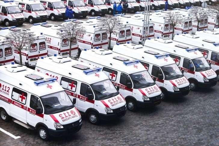 Подмосковный автопарк скорой помощи пополнился на 76 машин